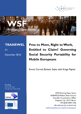 Free to Move, Right to Work, Entitled to Claim? Governing Social Security Portability for Mobile Europeans