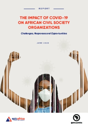 The Impact of COVID-19 on African Civil Society Organizations: Challenges, Responses and Opportunities